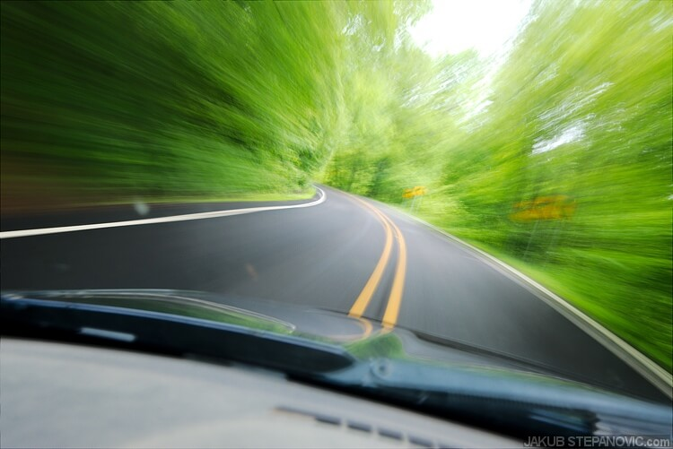Roads here in AR are curvy, with constant ups and downs. You can actually enjoy driving, instead of just holding the steering wheel straight for a month before hitting any turn.