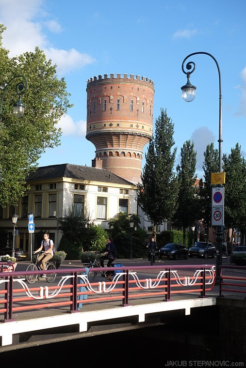 one of city's water towers