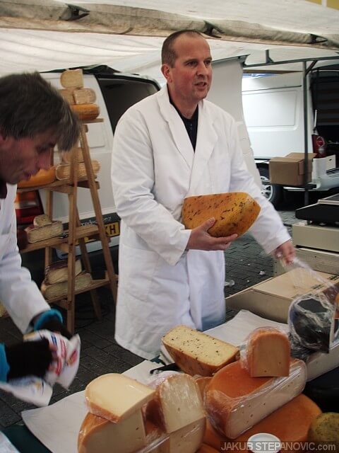 cheese market in Rotterdam. they are so good! (file photo I took back in 2007)