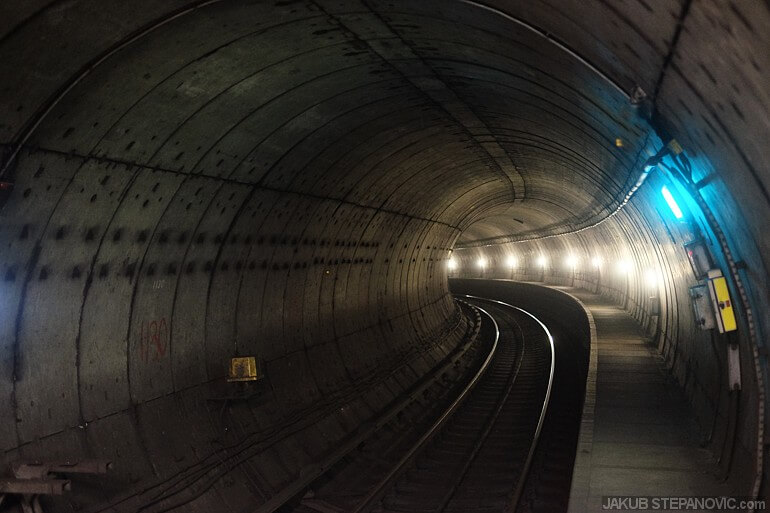 After the last train, tunnels are calm…