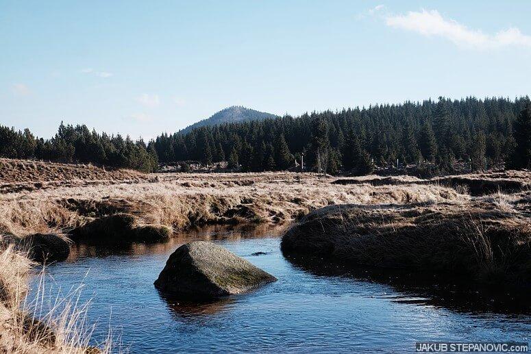 Bukovec Mountain above the Sapphire River