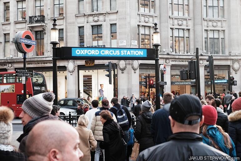 Crowded London