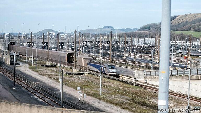 Eurotunel Train