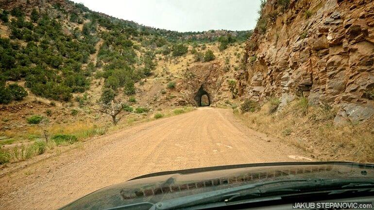 Phantom Canyon road