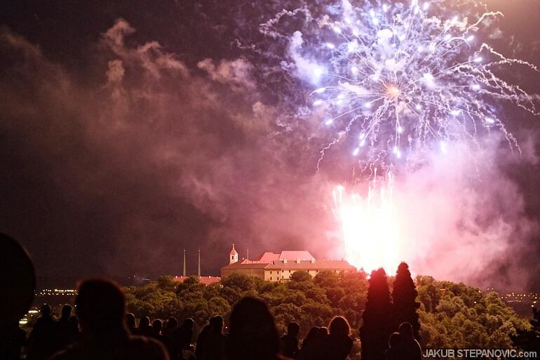 Brno Fireworks