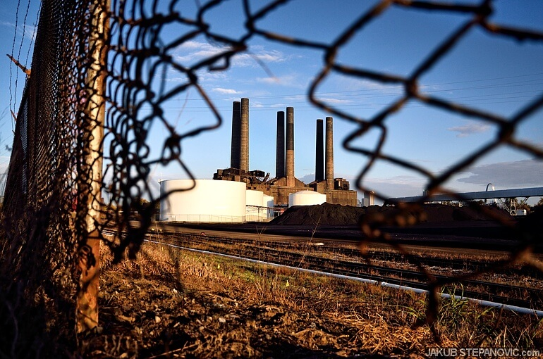 Cahokia Coal Power Plant