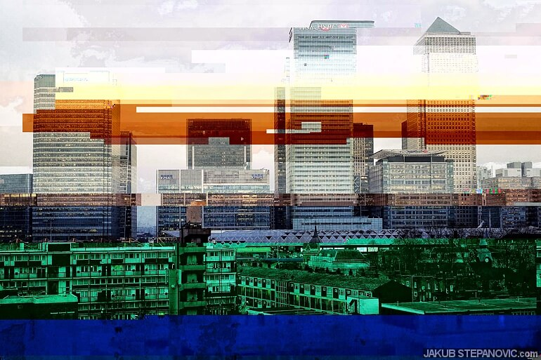 glitched-london