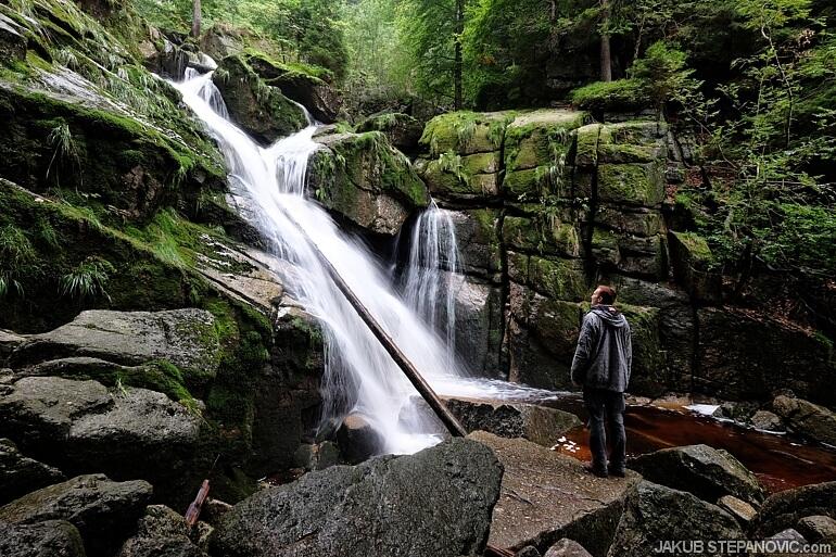 Black Creek waterfalls.